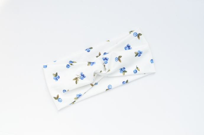Boho Twist Headband - Blueberry