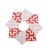 Christmas Ornament Origami Wreath Grab Bag set of 6