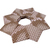 Christmas Origami Wreath Snake Skin Wallpaper