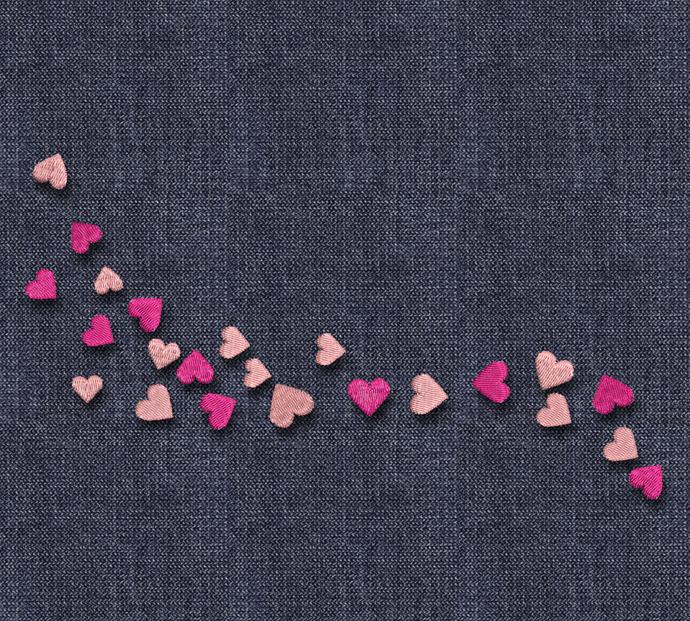 Machine embroidery design hearts love pe designs digital instant download pes
