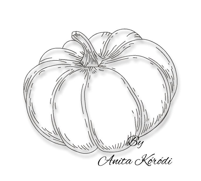 Embroidery Machin Designs Pumpkin Pes Halloween Fall