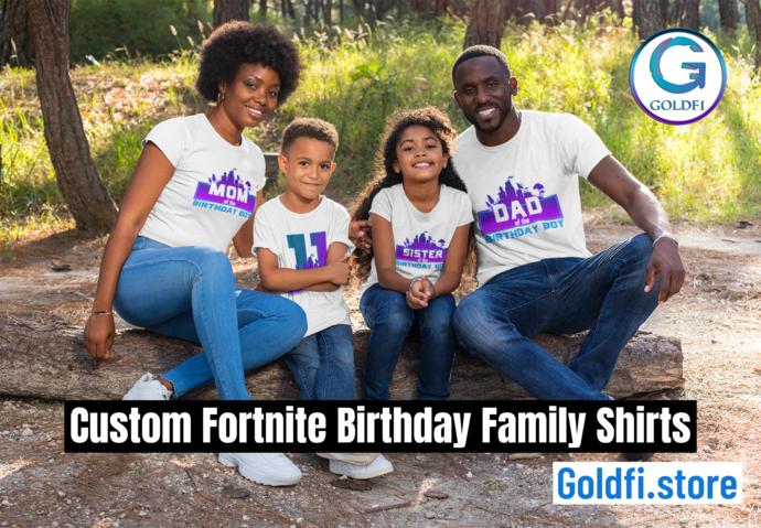 Fortnite Birthday Shirt -  Fortnite Birthday Shirts For Boys - Fortnite 5th