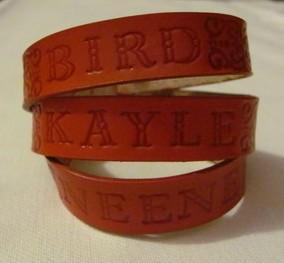 Mommas Triple wrap Leather Bracelet