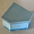 Small hexagon shape box wit stamped design