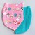 Alice in Wonderland Mask (dark pink)