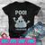 Halloween Poo I Mean Boo Poop Emoji SVG , EPS , DXF , PNG DIGITAL DOWNLOAD