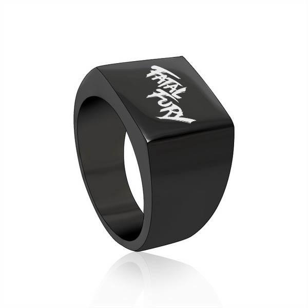 Fatal Fury Black Square Ring