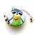 Tape Measure Winter Racoons Small Retractable Measuring Tape
