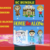 Home Alone SC Bundle 7 Patterns include graph with color block instructions