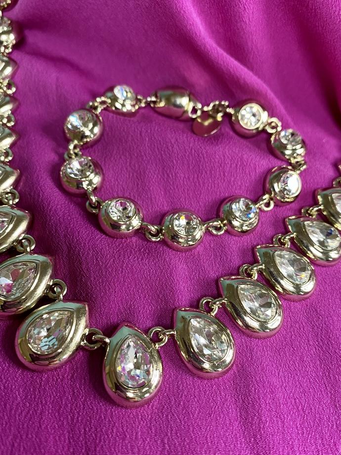 Vintage Necklace and Bracelet Set