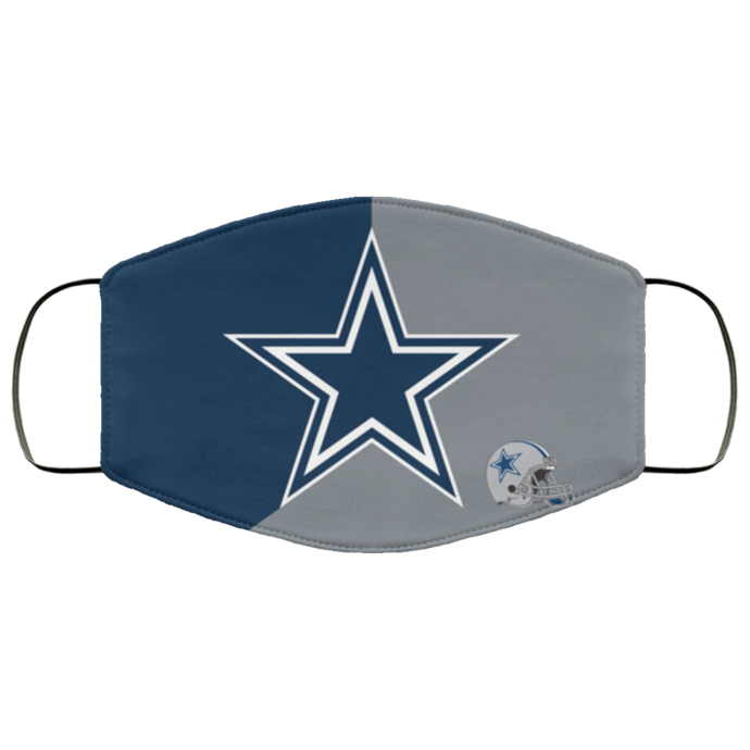Dallas Cowboys Face Mask Antibacterial Fabric Face Mask Gift, Washable Lawyer UK