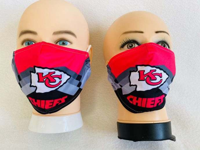 Kansas city chiefs face mask, washable and reusable Face Mask Gift, Washable