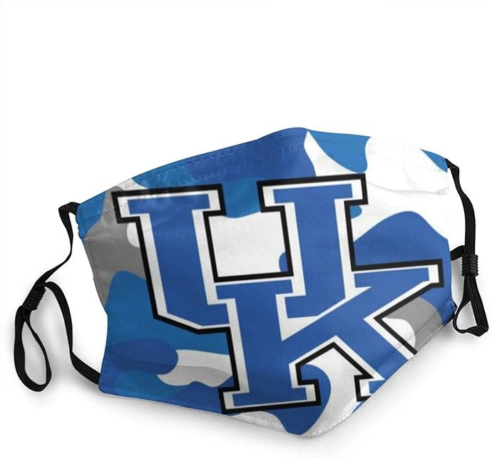 Kentucky Wildcats Dustproof Scarf Face Cover Dust Masks Cool Bandanas Cloth face