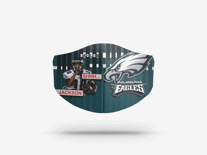 Philadelphia Eagles face mask Gift, Washable Lawyer UK Mask Filter 1