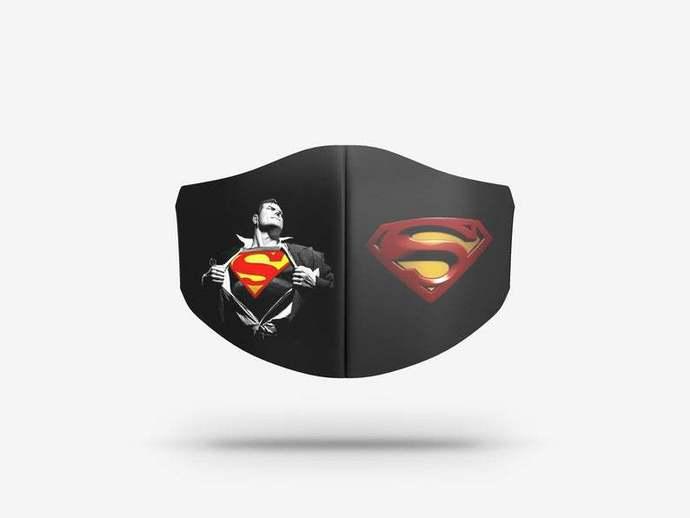 superman face mask Gift, Washable Lawyer UK Mask Filter 1