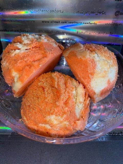Pumpkin Mallow Cream Bath Truffles (3 per order)