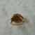 vintage Vendome signed crystal dome ring sz.6