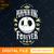 Pumpkin King Forever digital file svg, png,dxf, eps, design halloween