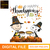 Snoopy Happy Thanksgiving SVG, digital file svg,png, dxf, eps, design for cricut
