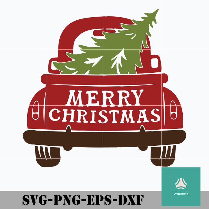 Merry christmas svg, Christmas svg, png, dxf, eps digital file CRMAS0052