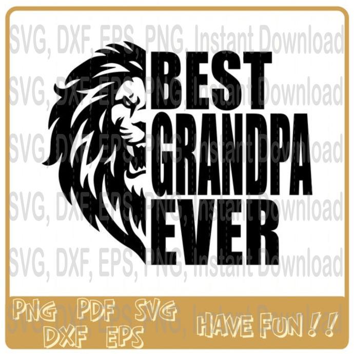 Best Grandpa Ever svg, Black Grandpa svg, Black Lives Matter svg, 2210819