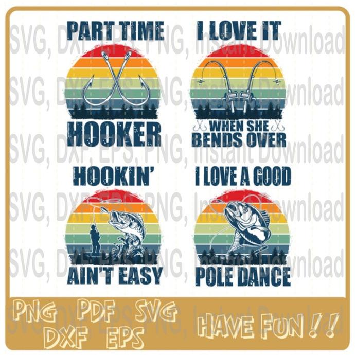 Part Time Hooker Svg I Love It When She By Charlesrter Svg On Zibbet