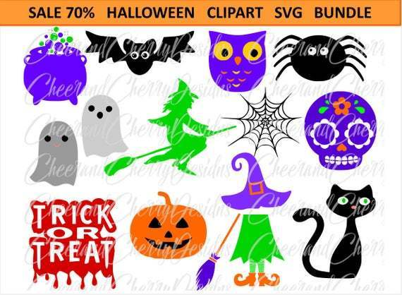 Halloween Svg Bundle Pumpkin Svg Witch Svg By Robert Store On Zibbet