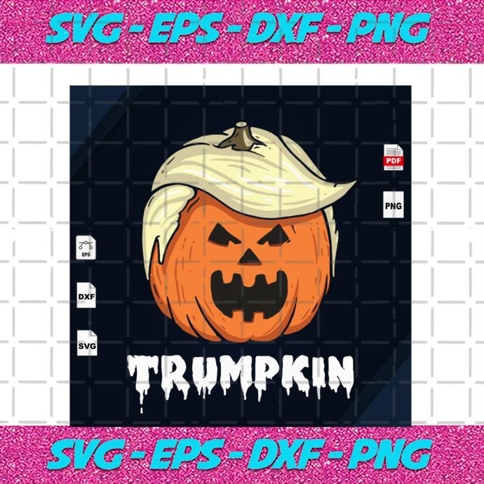Trumpkin Trump Svg Trump President Pumpkin By Alan Store On Zibbet