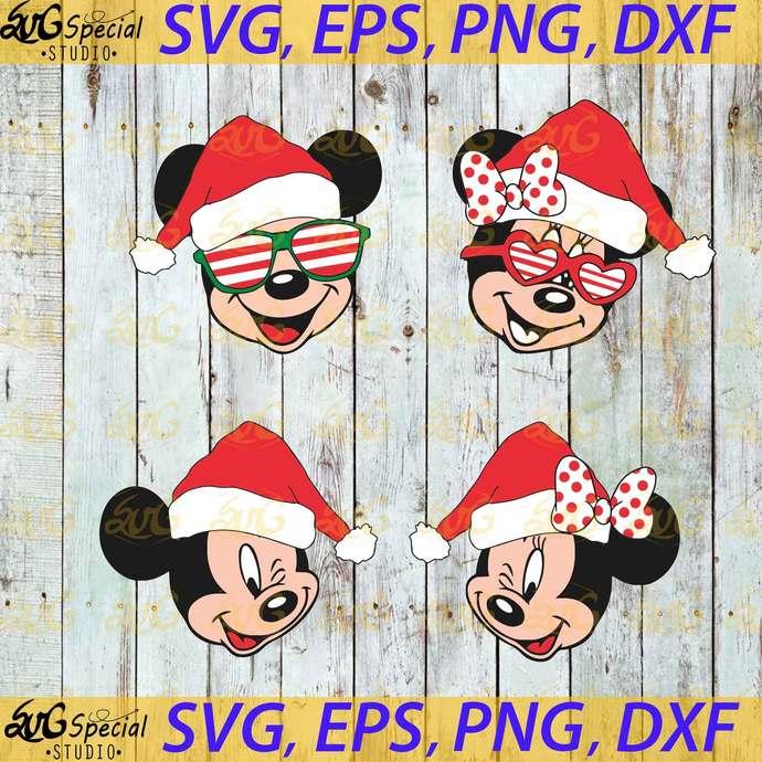 Christmas Svg, Cricut, Bundle, Family Svg, Disney Family, Disney Christmas Svg,
