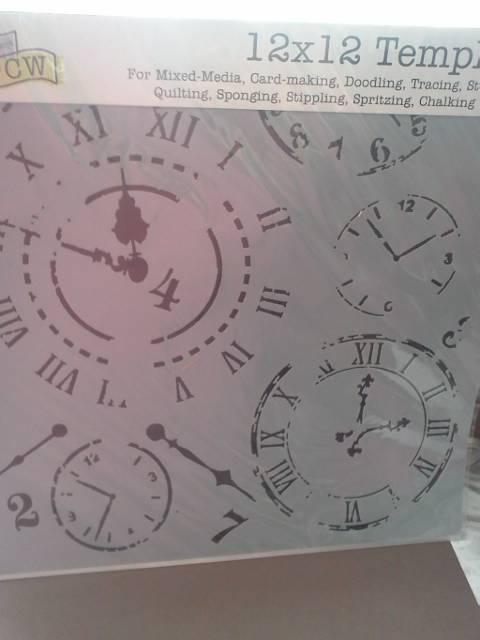 """TCW 12"""" by 12"""" Clock*"""