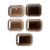 Smoky Quartz Faceted Octagon Loose Gemstone, Faceted Smoky Quartz , Smoky Quartz
