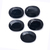 Black Spinel Faceted Oval 30 x 22 mm Semi Precious Loose Gemstone, Black Spinel