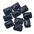 Black Spinel Faceted Octagon 22 x 16 mm Semi Precious Loose Gemstone ,Onyx