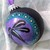 """2.75"""" Glass Ball Dragonfly Silhouette Ornament"""