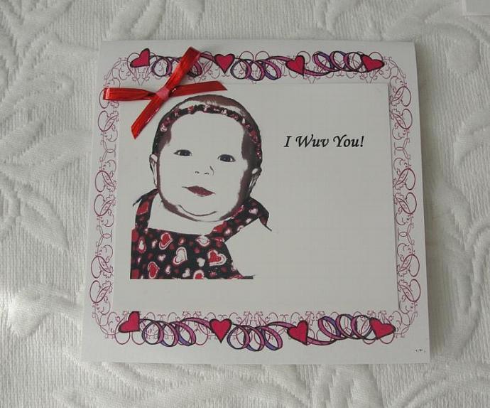 My Little Valentine Card Set