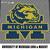 Michigan Wolverines College Logo Mascot crochet graphgan blanket pattern;