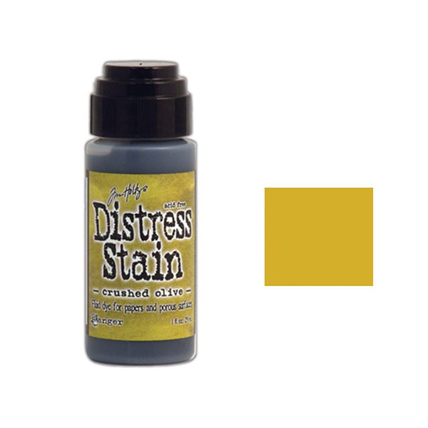 Tim Holtz Distress Stain Crushed Olive*