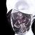 Black Latex Fetish Fitted Face Mask with Filter Pocket BDSM Vintage Heavy Rubber