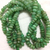 Natural Chrysoprase Micro Faceted Beads,Chrysoprase Roundelle Beads,Green