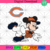 Chicago Bears Logo And Mickey, Sport Svg, NFL Football Svg, NFL Svg, NFL Sport,