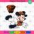 Cleveland Browns Logo And Mickey, Sport Svg, NFL Football Svg, NFL Svg, NFL