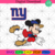 New York Giants Logo And Mickey, Sport Svg, NFL Football Svg, NFL Svg, NFL