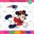 New England Patriots Logo With Mickey, Sport Svg, NFL Football Svg, NFL Svg, NFL