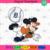 Detroit Logo And Mickey, Sport Svg, MLB Baseball Svg, MLB Svg, MLB Sport,