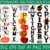 Fall Porch Sign Bundle SVG Files, Pumpkin Welcome to Our Home Porch Sign,