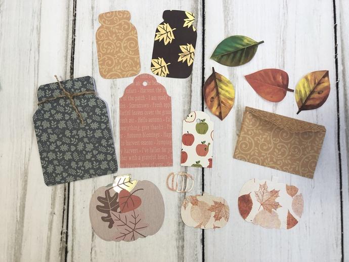 Fall Themed Ephemera Pack #2 / Journal Supplies