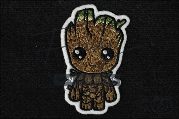 Baby Groot Iron On Patch