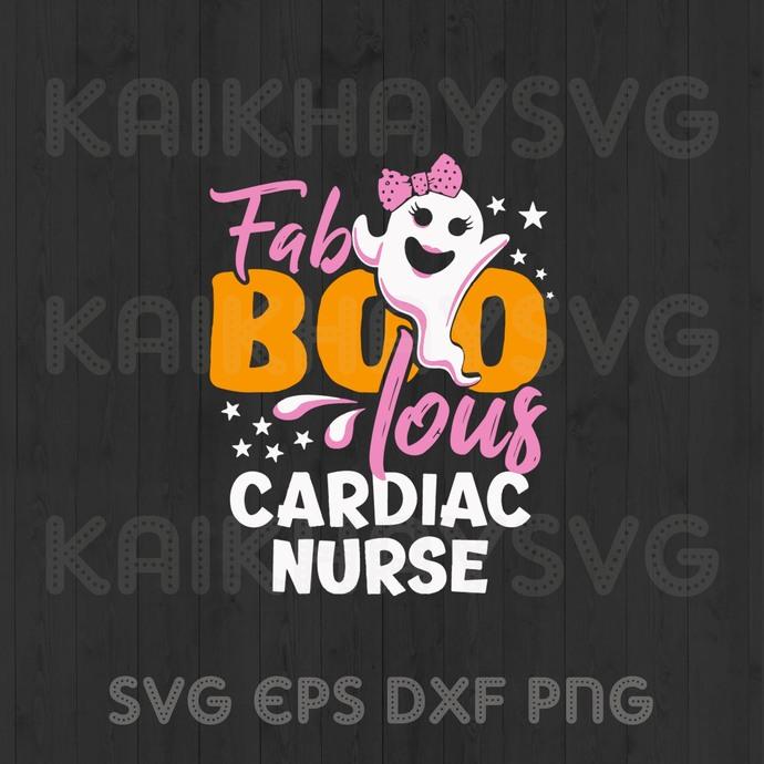 Fablous Cardiac Nurse , Halloween Quarantined 2020 SVG, Halloween Cricut, SVG,