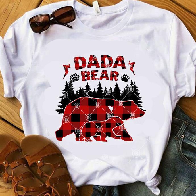 DADA Bear SVG, Father's Day SVG, Dad SVG, Quote SVG, Funny SVG, Digital Download