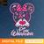 Minnie Pink Warrior SVG , Support Breast Cancer Awareness Svg